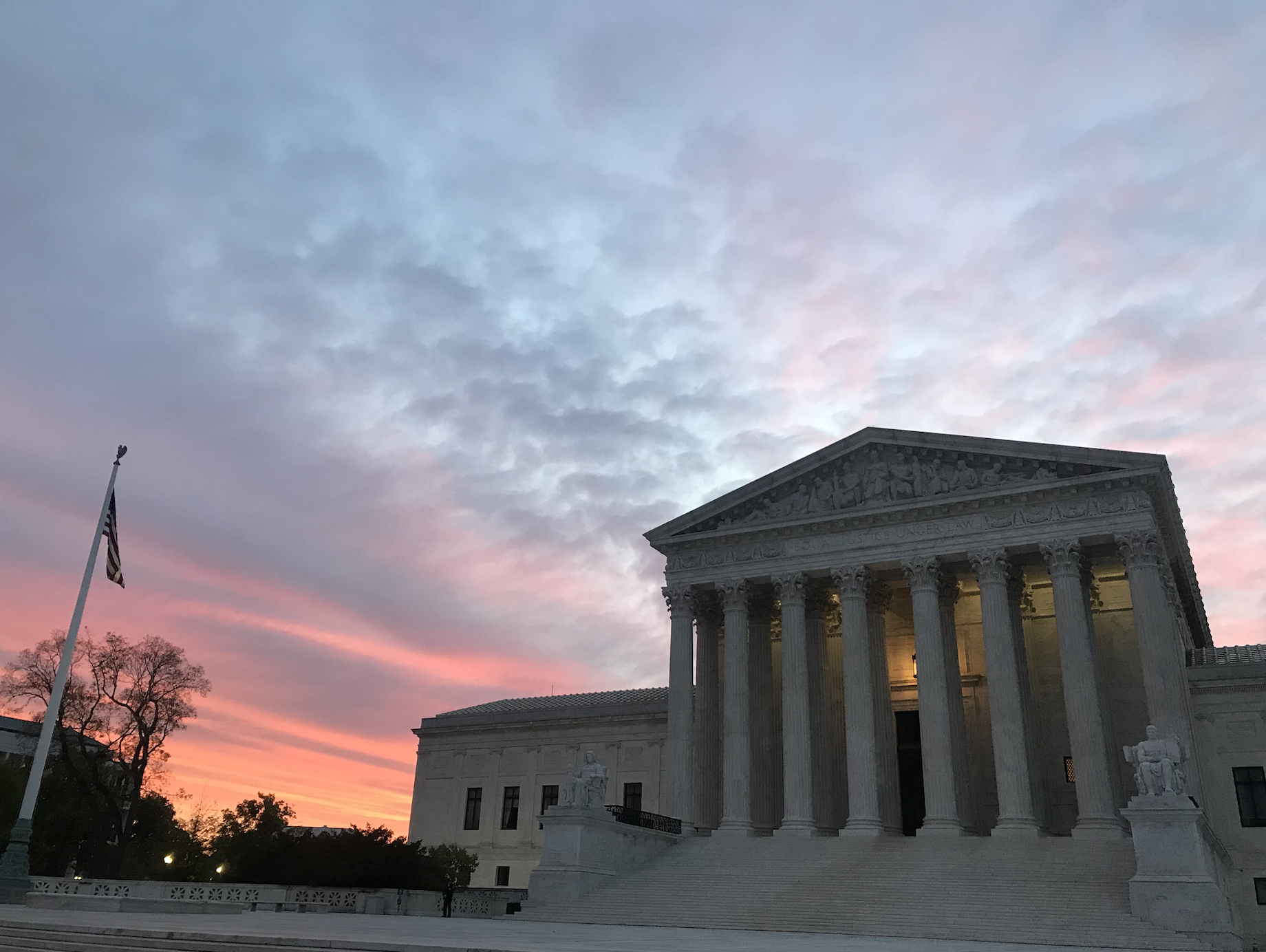 Image: The Supreme Court of the United States. (PC Courtney Douglas)