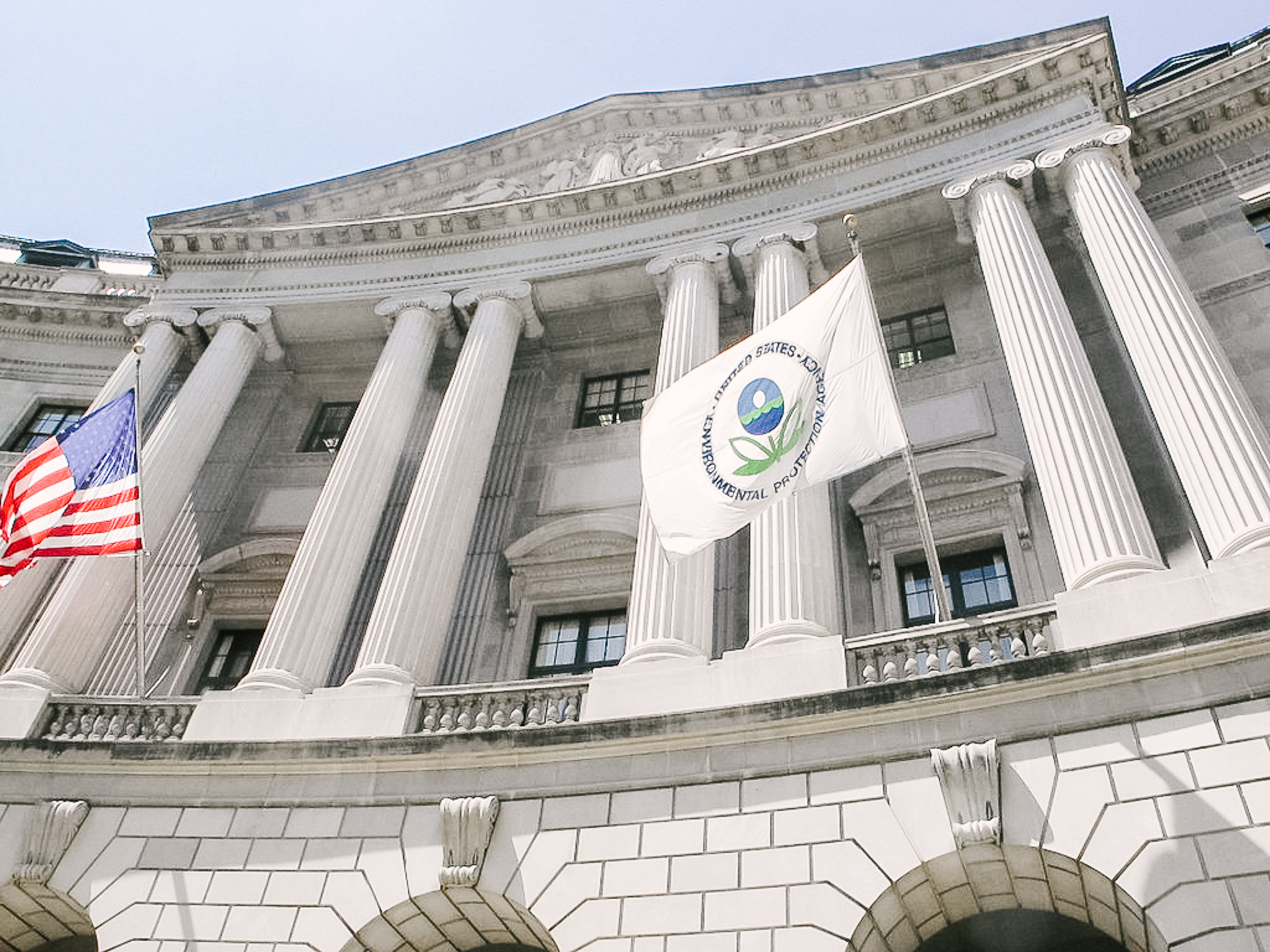 Image of the Environmental Protection Agency building, courtesy of the Natural Resources Defense Council.