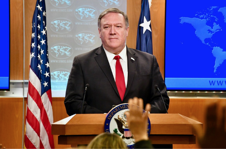 Image: Secretary of State Mike Pompeo. Courtesy of Flickr.