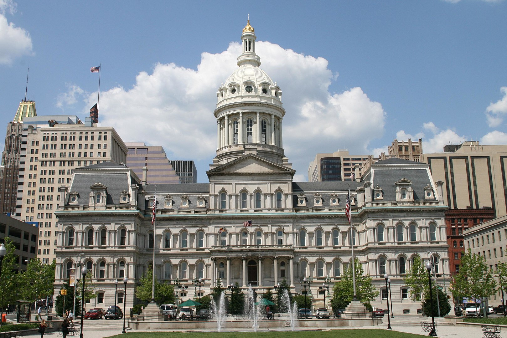 This is an image of Baltimore City Hall