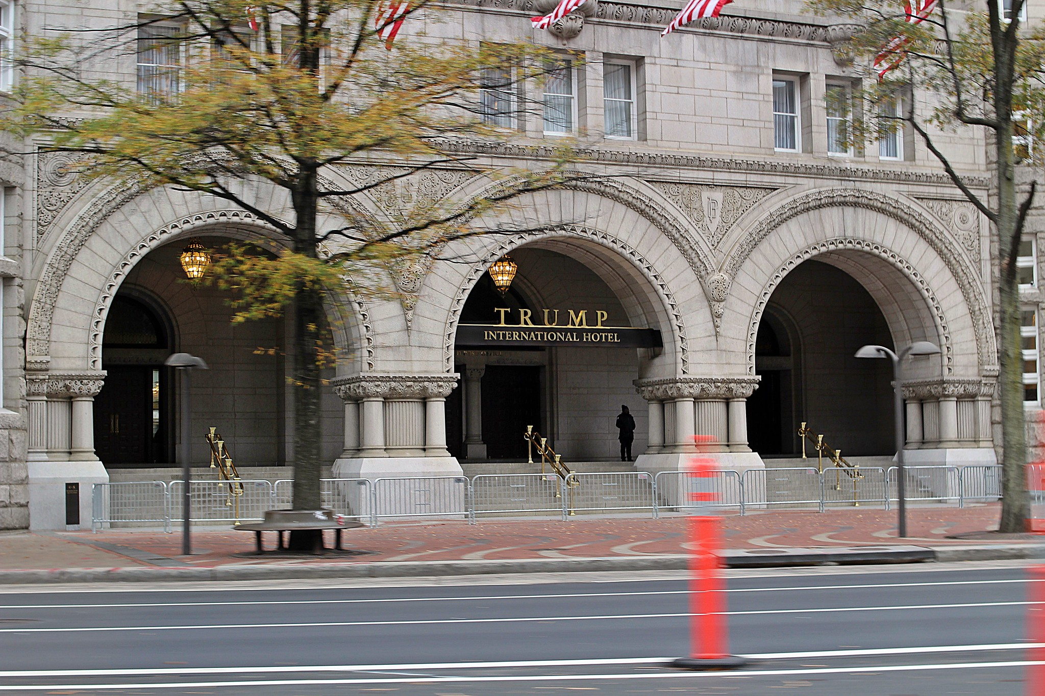 Photo of Trump International Hotel in Washington, D.C. Photo by Ian Morton.