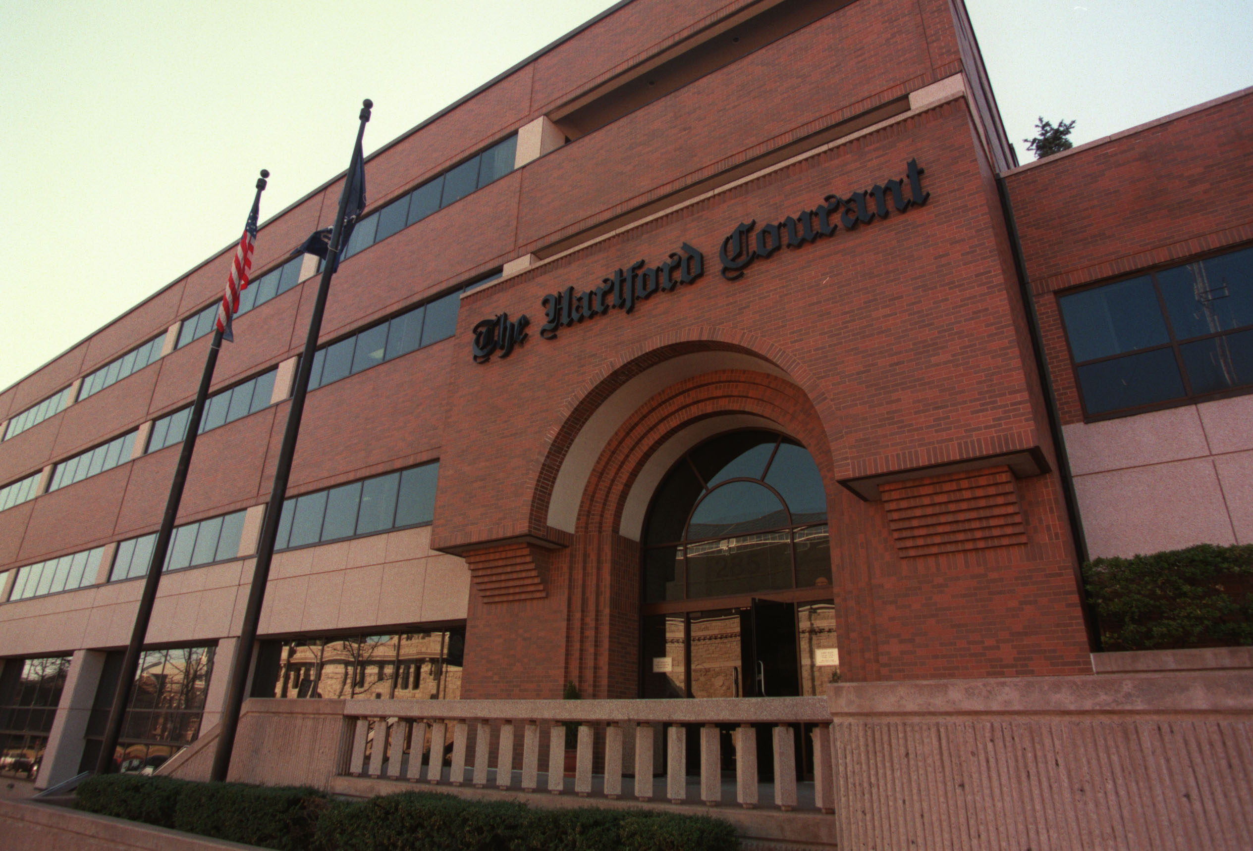 Photo of the Hartford Courant building
