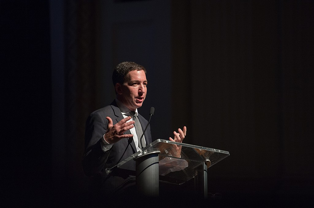 Photo of journalist Glenn Greenwald