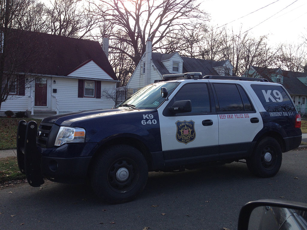 Photo of Ewing Township police vehicle