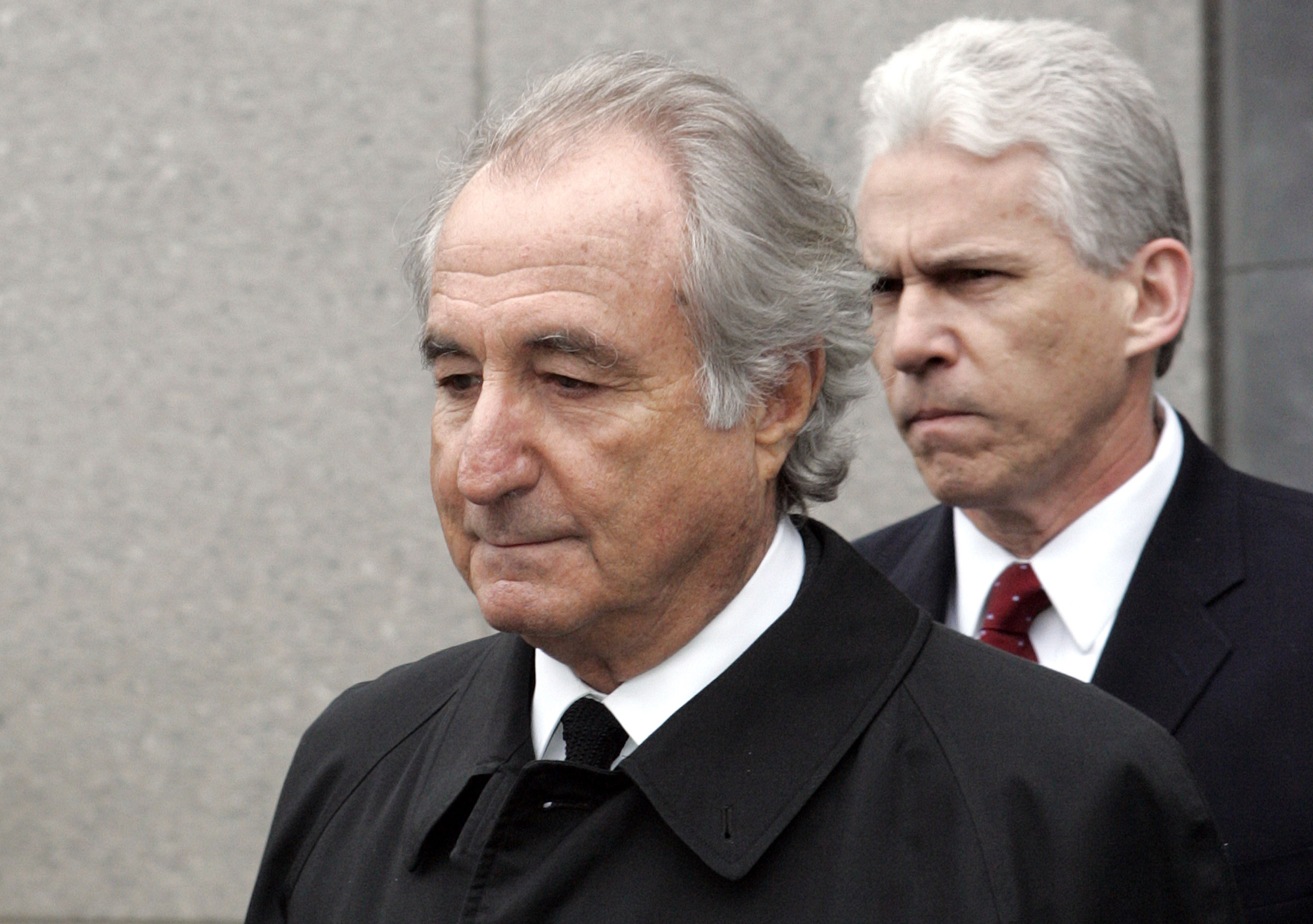 Photo of Bernie Madoff. Photo by David Karp
