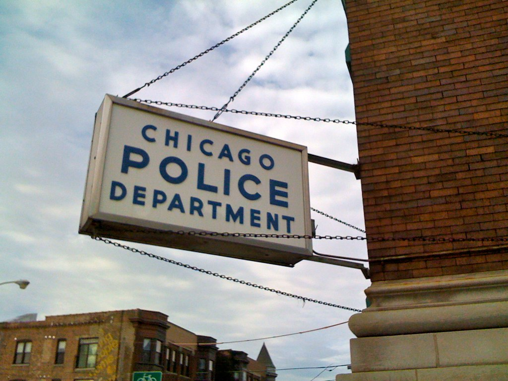 Creative Commons Photo of Chicago Police Department sign