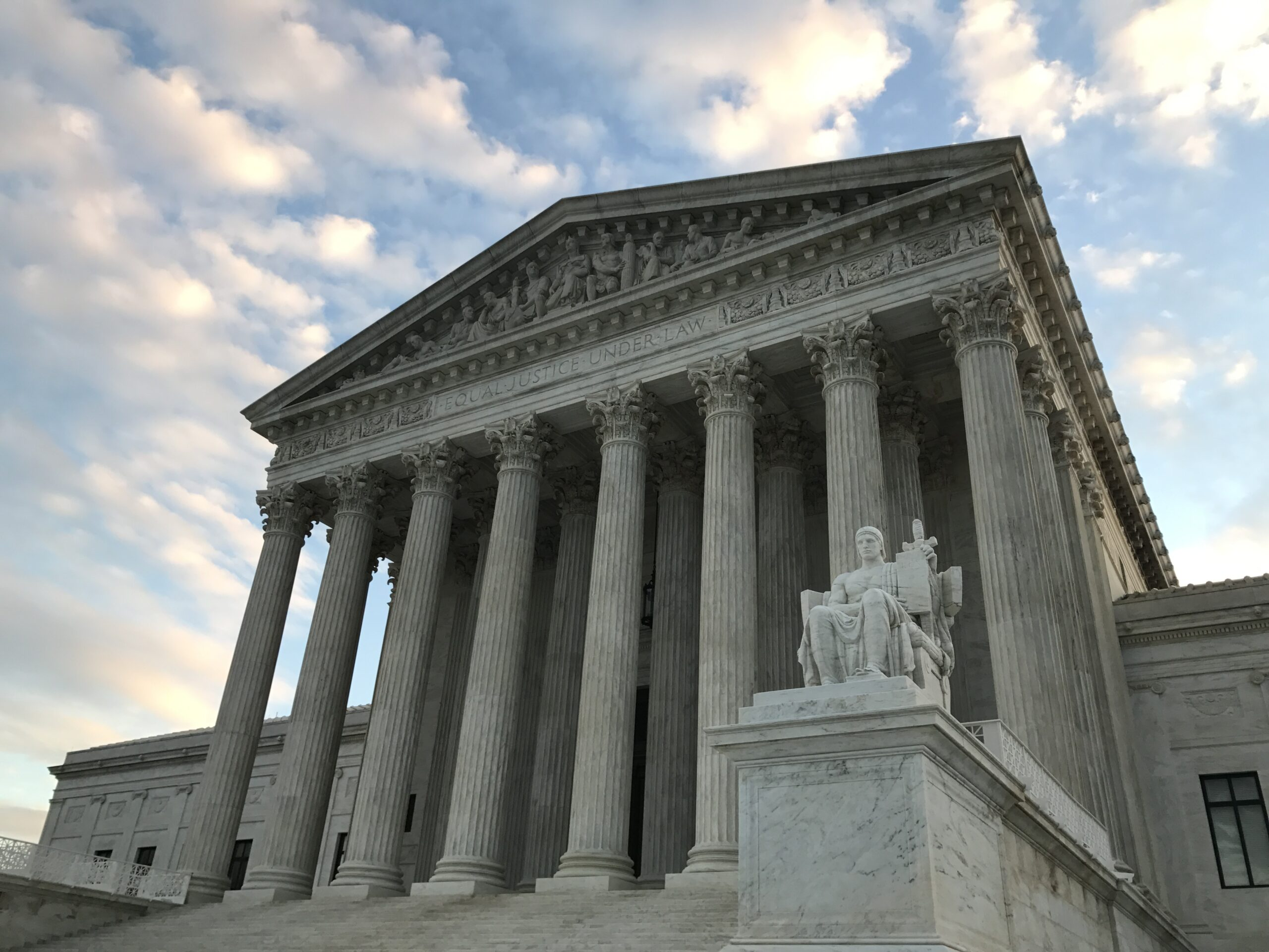 Photo of U.S. Supreme Court - photo by Kelly Horein