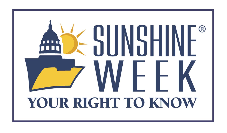 Sunshine Week 2021 graphic - Courtesy of NLA