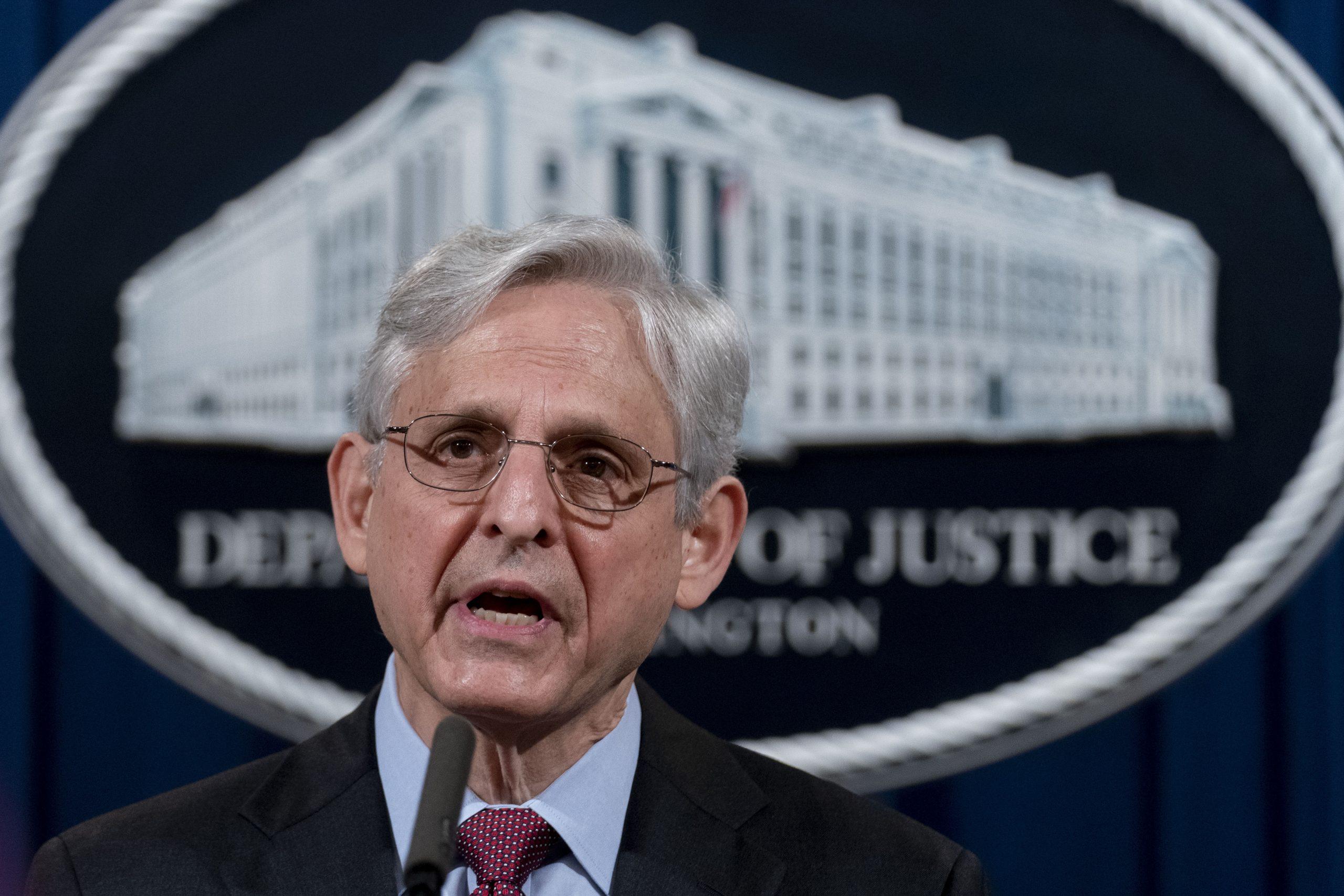 Attorney General Merrick Garland - AP Photo by Andrew Harnik