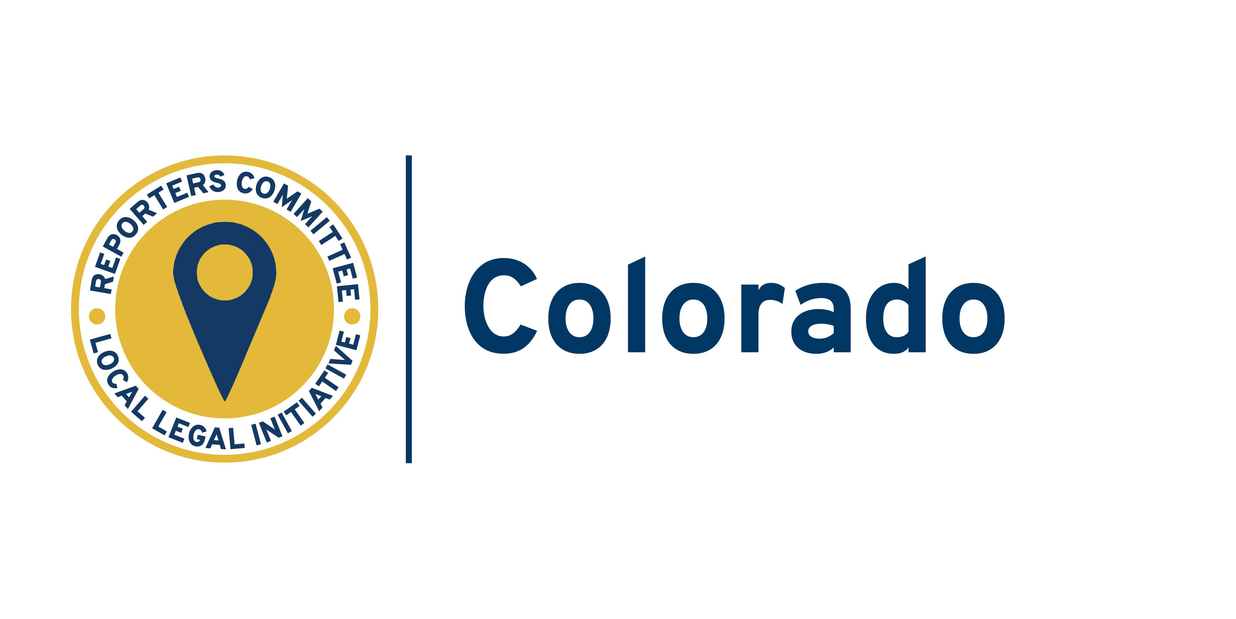 State name card for Colorado Local Legal Initiative