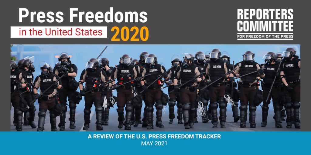 Press Freedom Tracker 2020
