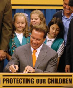 AP Photo  Former California Gov. Arnold Schwarzenegger signed a bill banning the sale of violent video games to minors in 2005.