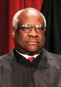 "Justice Clarence Thomas dissented from the Court's opinion, saying speech to minors is ""excluded"" from First Amendment protection."